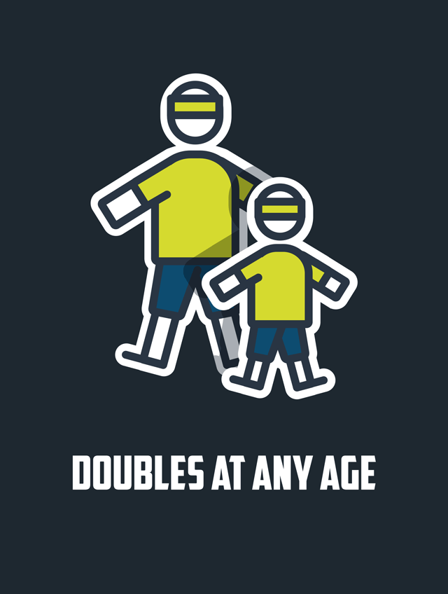 Doubles At Any Age
