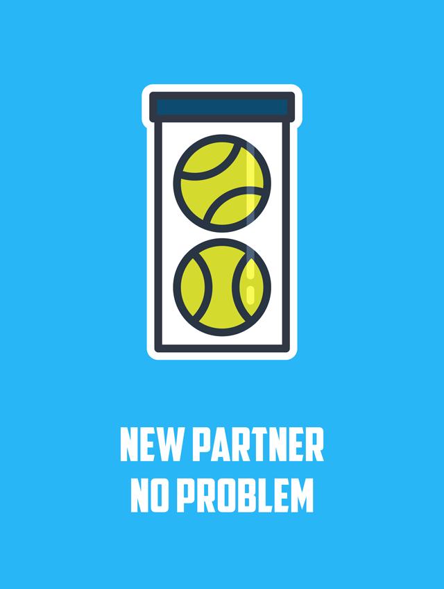New Partner, No Problem