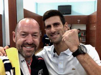 Novak and CraigTrophy