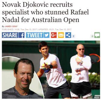 Novak hires Craig